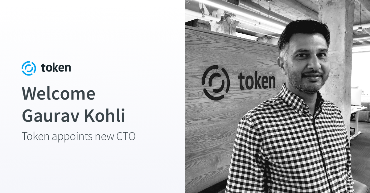 Token appoints new Chief Technology Officer