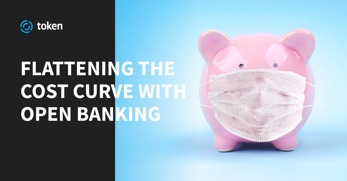 Flattening the cost curve with open banking