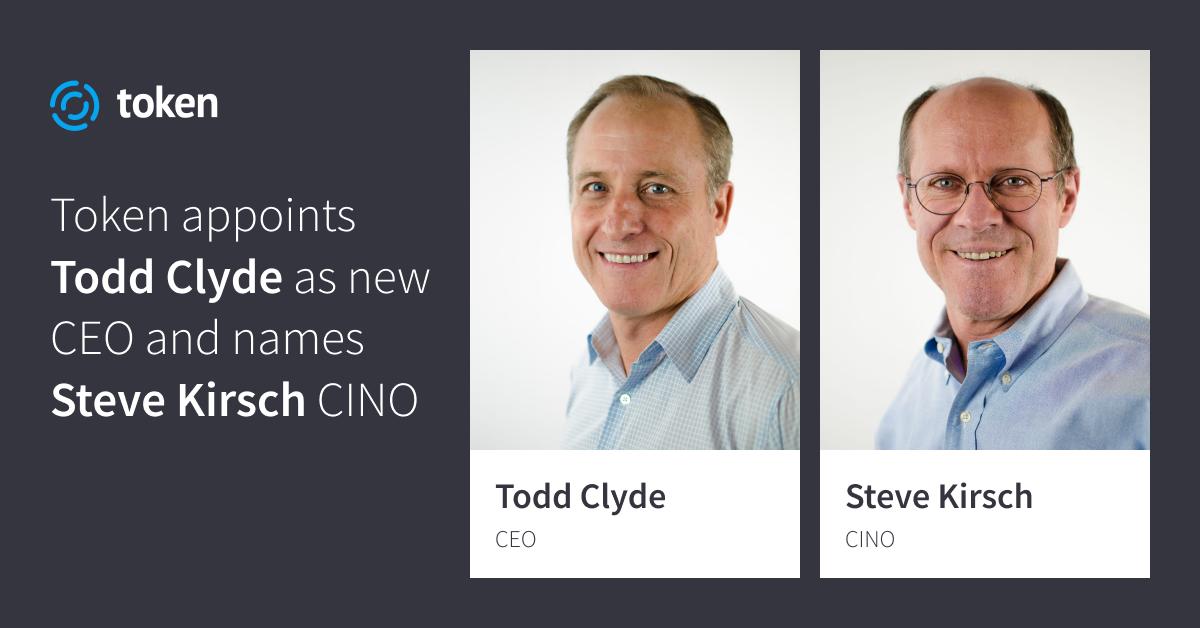 Token Announces New CEO