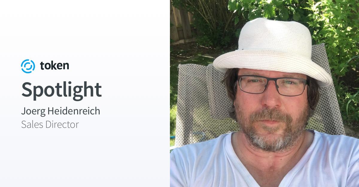 Team Spotlight: Joerg Heidenreich